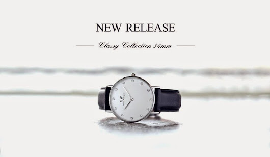 Daniel Wellington new release! The Classy Collection 34mm