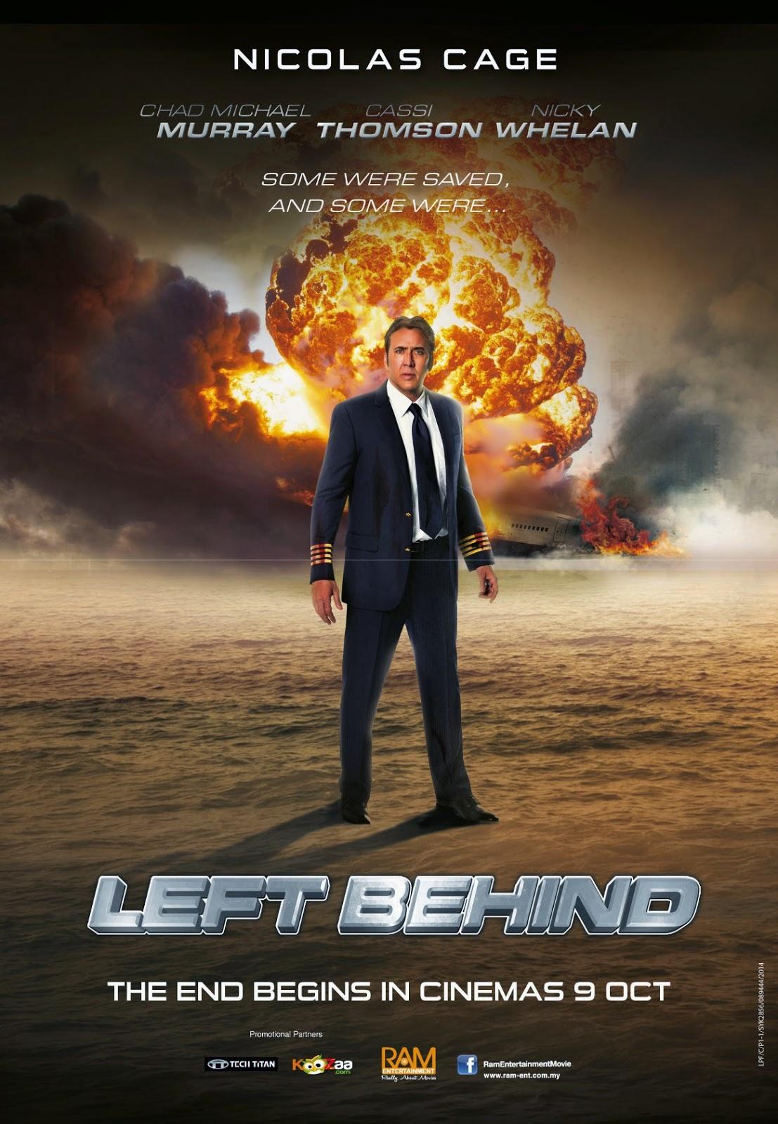 Left Behind (2014) อุบัติการณ์สวรรค์สั่ง [HD]