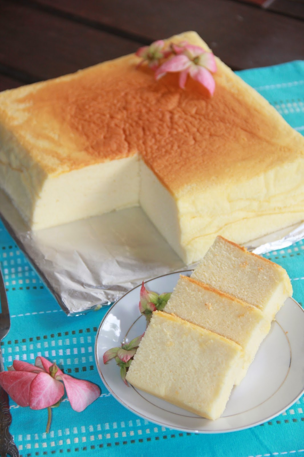 Jess Kitchen Lab Best Ever Japanese Cotton Cheesecake