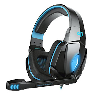 Cosmic Byte Over the Ear Headsets with Mic & LED