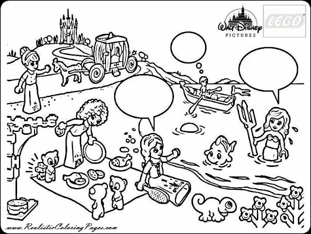 Disney princess coloring pages all princess