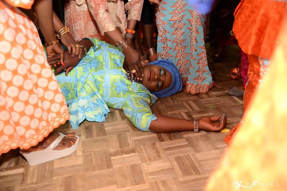 Nigerian Socialite Adenike Kikelomo Ajoke Faints As She