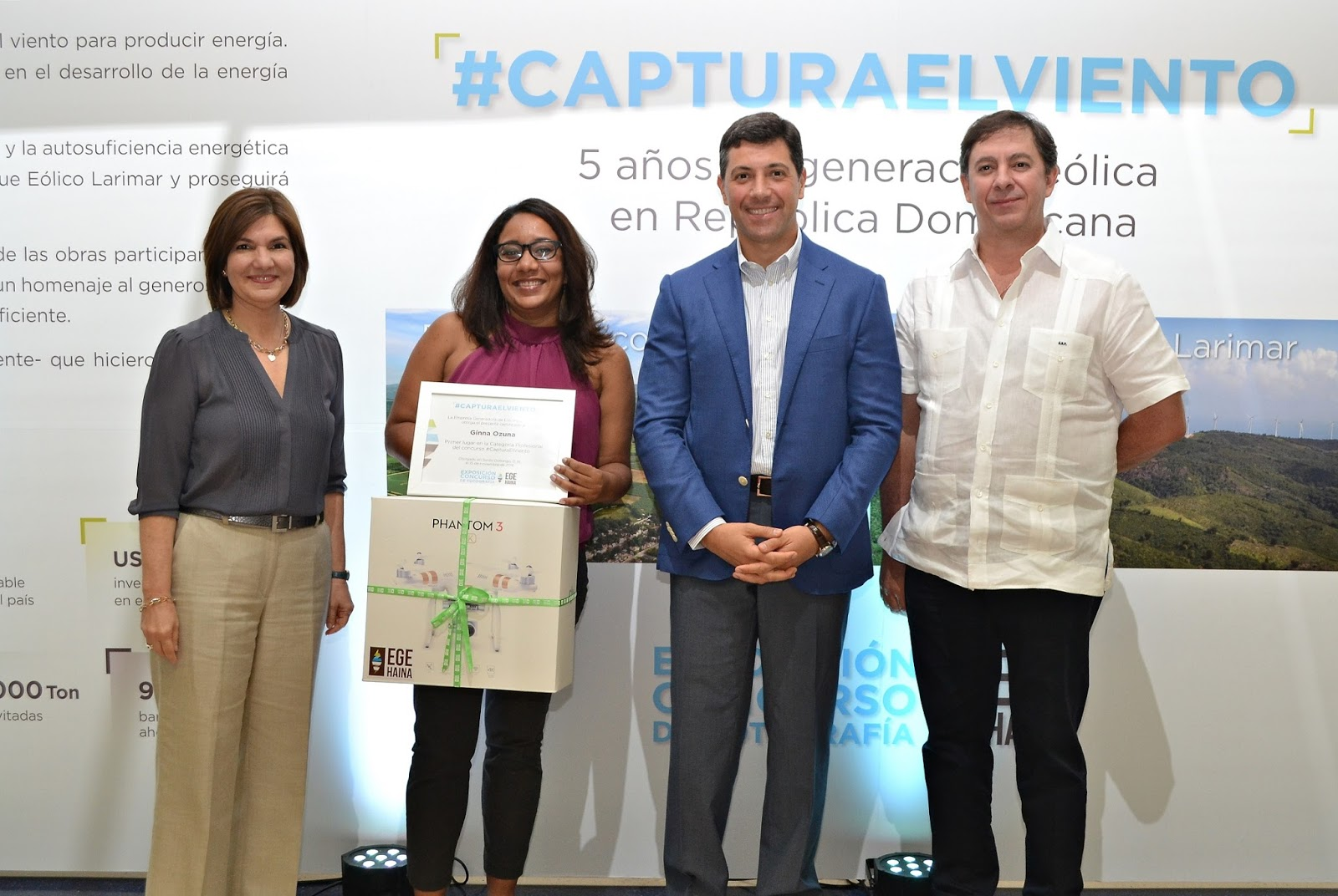 EGE Haina inaugura exposición fotográfica #CapturaElViento | GPS ...