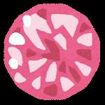 宝石のイラスト(トルマリン)