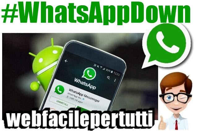 #WhatsAppDown a Capodanno | Server in tilt per un'ora in gran parte d'Europa
