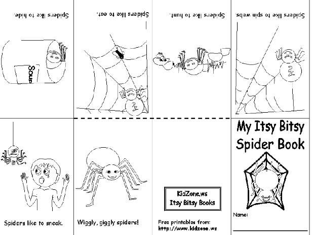 Kindergarten Holding Hands And Sticking Together Spiders