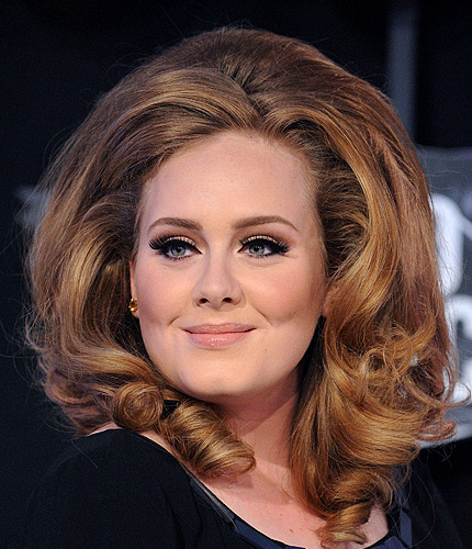 Adele Hair Color Pictures