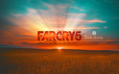 Far Cry 5 Titre - Fond d'écran en Ultra HD 4k 2160p