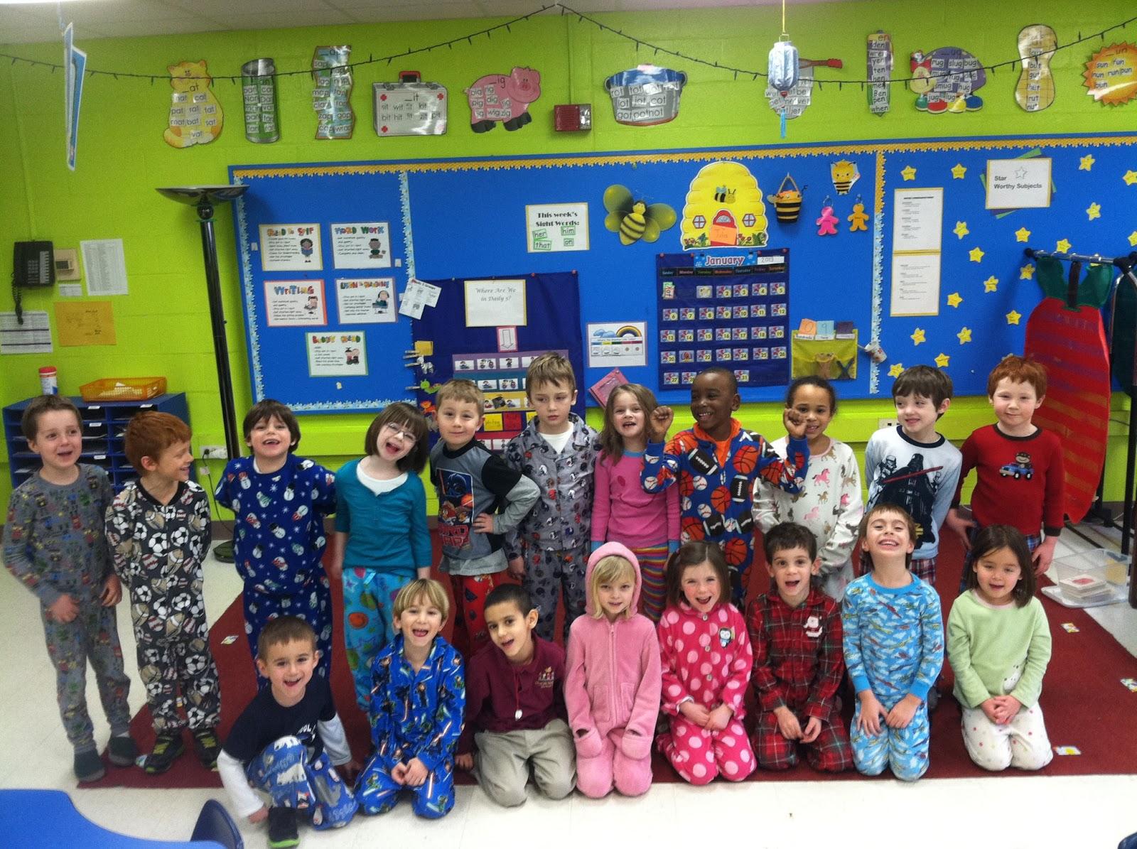 Mrs Assell S Kindergarten Catholic Schools Week Pajama Day