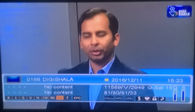 DigiShala a Brand New TV Channel added on DD Freedish DTH
