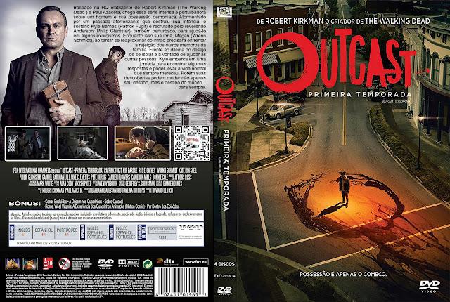 Capa DVD Outcast Primeira Temporada [Custom]