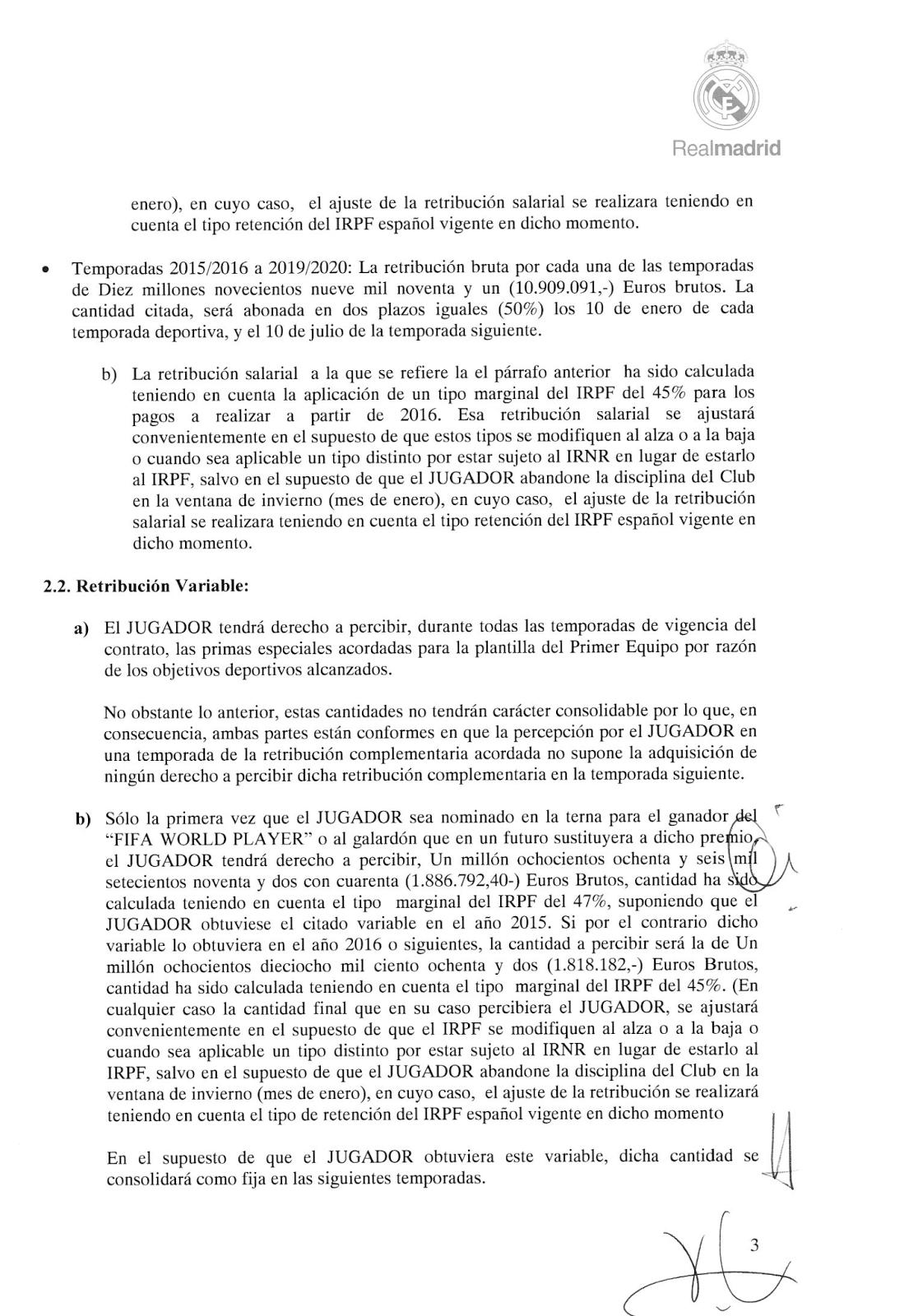 DerechoWeb: Contrato Privado de Toni Kroos con el Real Madrid ...