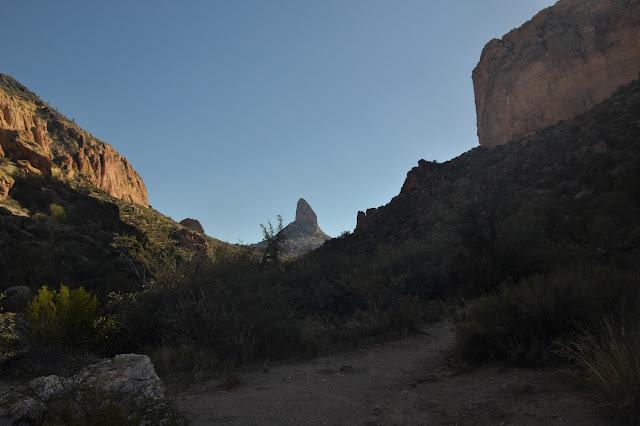 shadow of Palomino Mountain