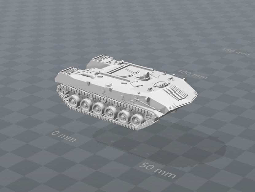BTRD Soviet VDV