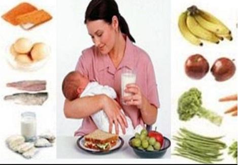 Makanan yang Baik untuk Wanita Menyusui