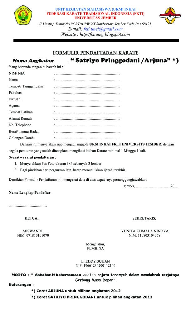 Ukm Pusat Karate Inkai Unej Info