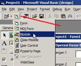 Penggunaan Module (Modul) dan Function di Visual Basic 6.0