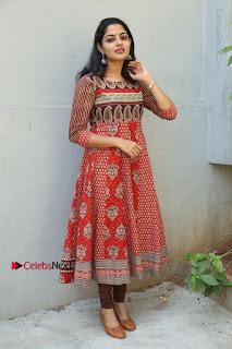 Telugu Actress Nikhila Vimal Latest Stills in Anarkali Dress  0202.JPG
