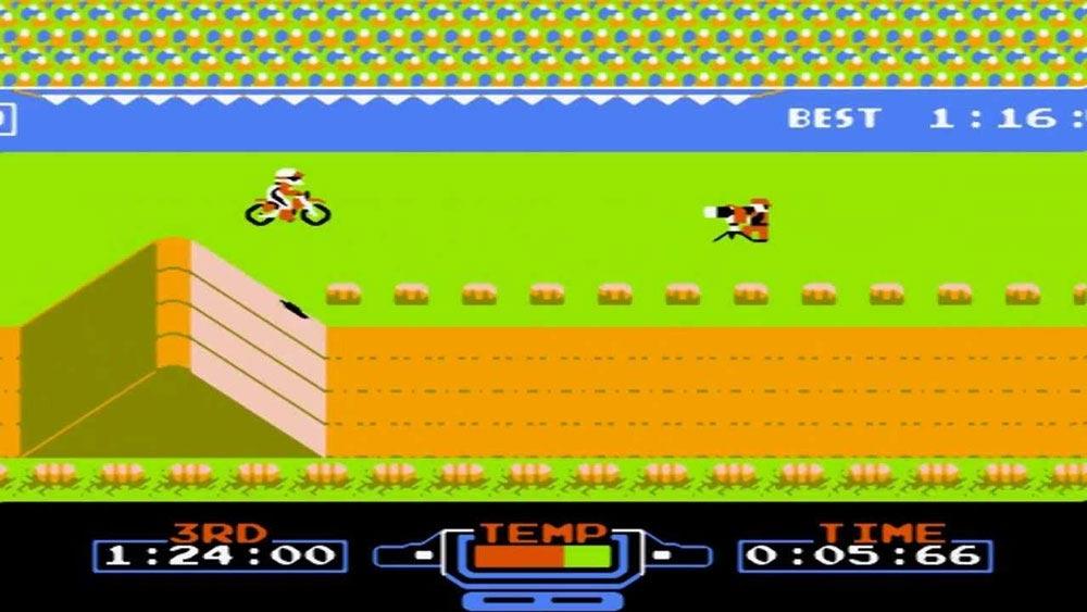 لعبة سباق الموتوسيكلات أتاري Motorcycles - منصة تجربة