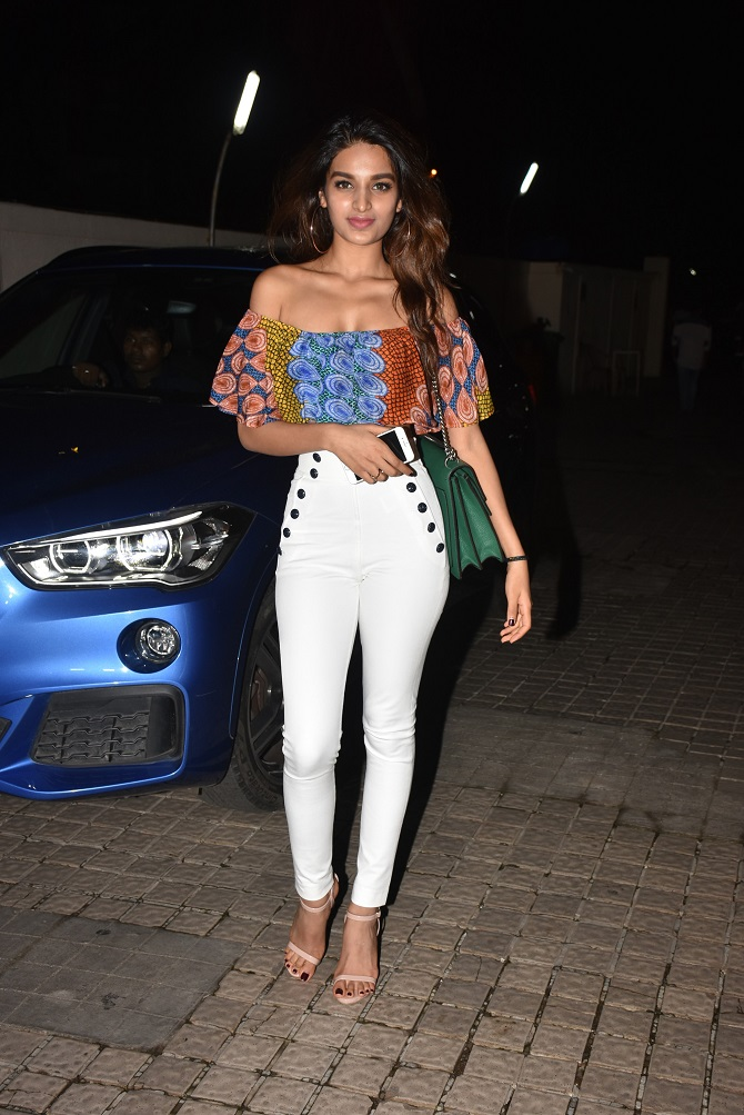 Bollywood Celebs Attend Mubarakan Movie Special Screening