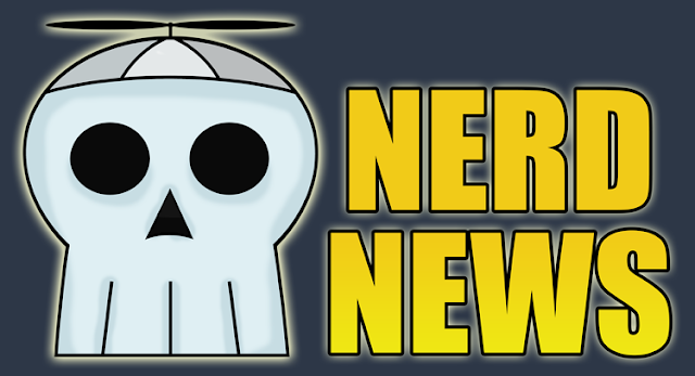 Nerd News logo by Johnny Mason