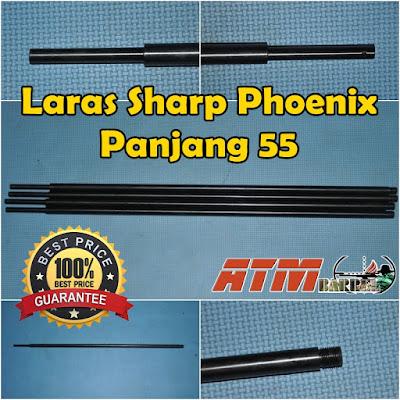 Laras Senapan Angin Sharp Phoenix OD 13-55