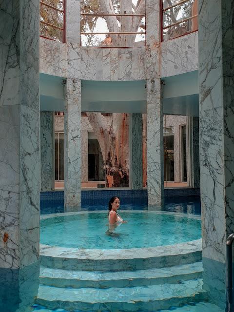 Marrakech, Es Saadi resort. Alessia Siena nella Spa