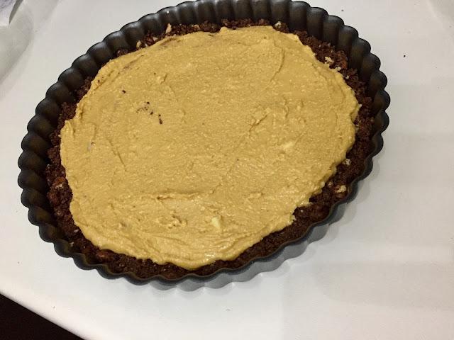 Base con la mantequilla de cacahuete
