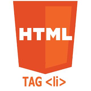 Cara Membuat Menu Daftar/List di HTML dengan (tag li)