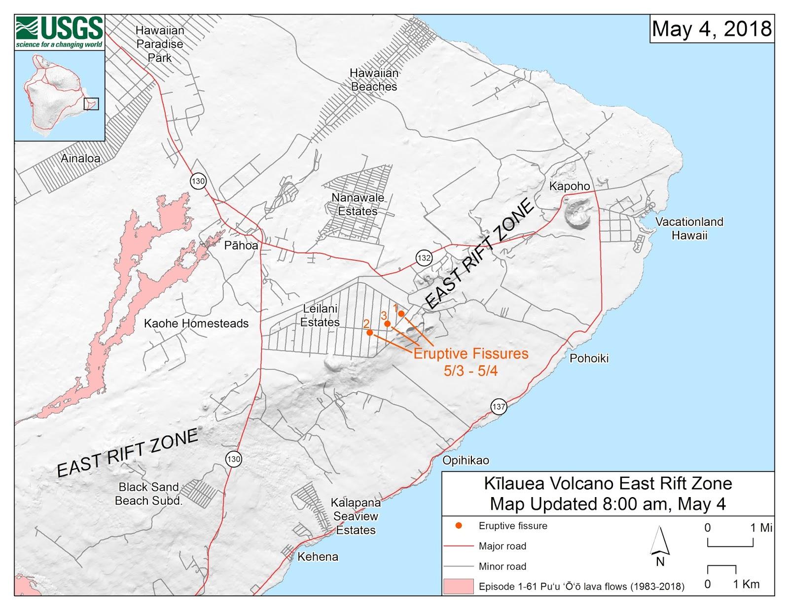 credit u s geological survey links der lichtrote lavafluss nach pahoa 2014 siehe meine umfangreichen blogeintraege in englisch fuer diesen ausbruch