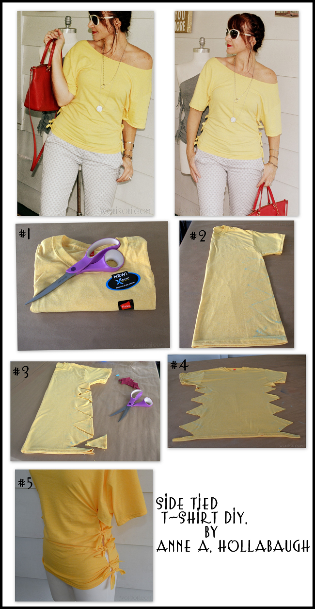 Wobisobi Side Tied Shirt Diy