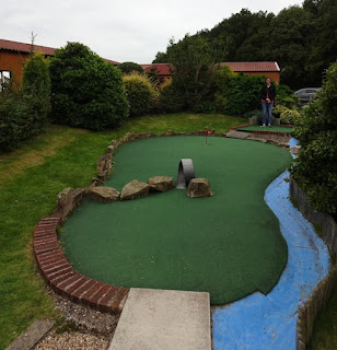 Crazy Golf course at York Golf Range