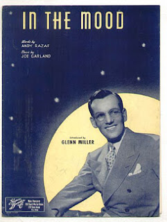 Cartel de In the Mood, con Glenn Miller