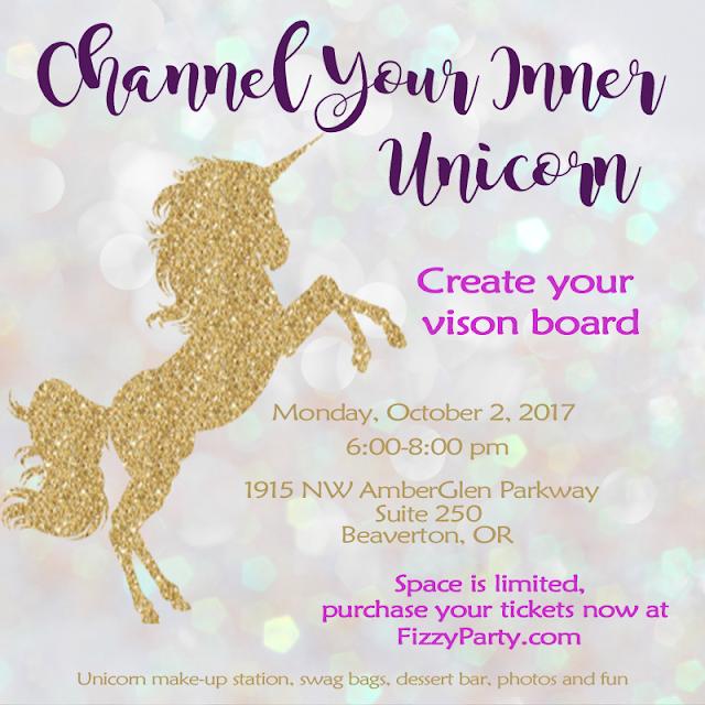 Unicorn Vision Board Party
