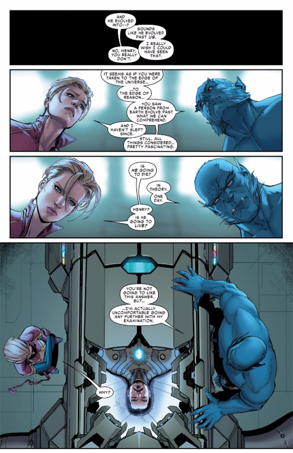 Guerra Civil II Destino Tony Stark