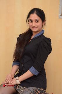 Telugu Actress Priyanka Pallavi Stills in Micro Mini Skirt at Nenosthaa Movie Song Launch at Radio City  0037.JPG