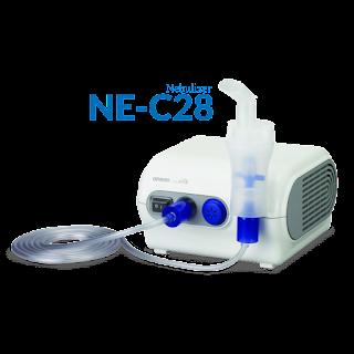 OMRON Nebulizer, Partner Terbaik Untuk Mempermudah Terapi Gangguan Pernapasan