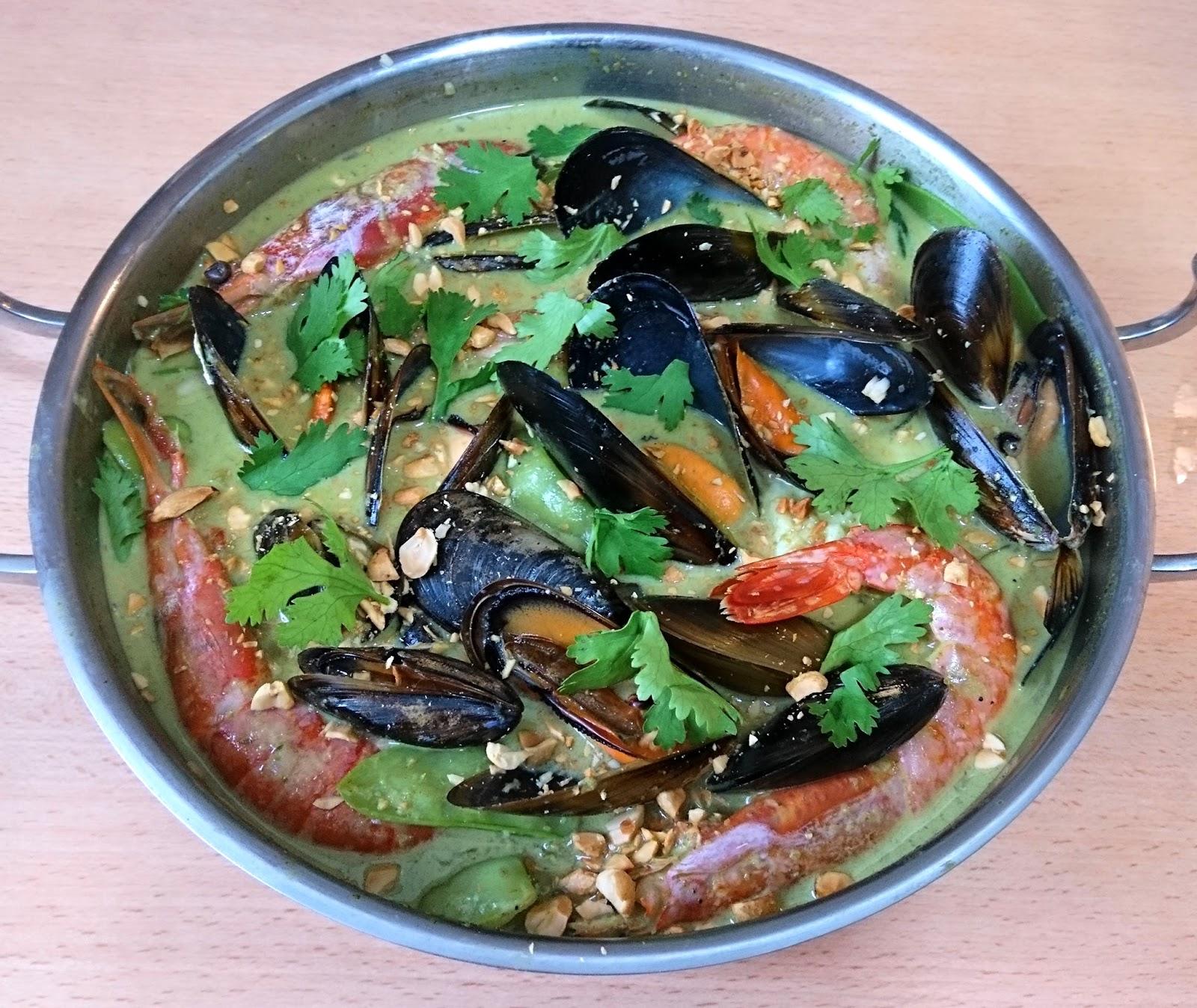 Los Fogones de Pistachulín: Curry verde de pescado