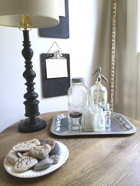 DIY Art Display Creating Chalkboard Painted Clipboards with twine from Noting Grace