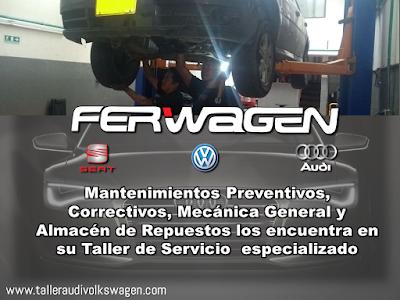 Ferwagen Taller Audi Volkswagen Seat