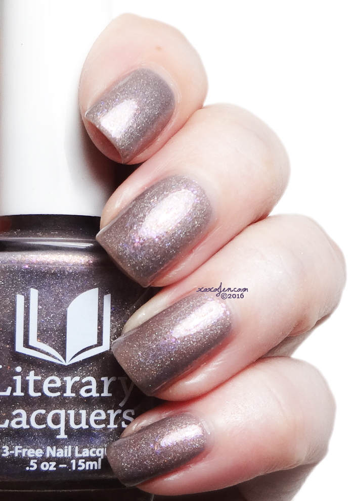 xoxoJen's swatch of Literary Lacquers Serious Nap Rays