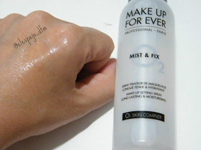 MIST AND FIX MAKE UP FOR EVER