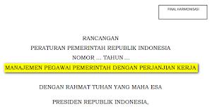 Bahasan RPP Manajemen PPPK
