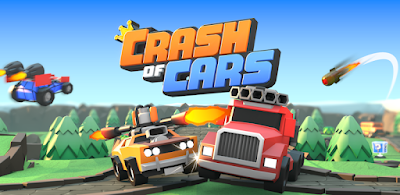 لعبة حرب السيارات Crash of Cars مهكرة للأندرويد - تحميل مباشر