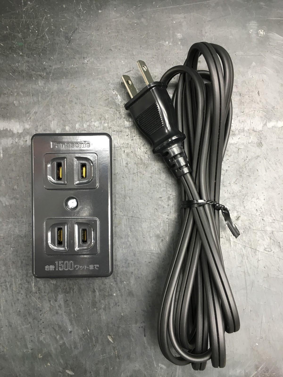 オヤイデ電気ショップブログ: お手軽、簡単!電源タップを自作編!