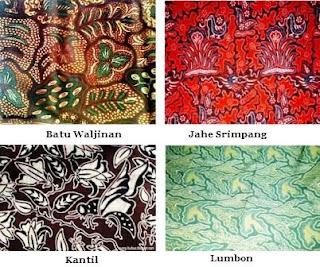 Motif Batik di Jawa Tengah