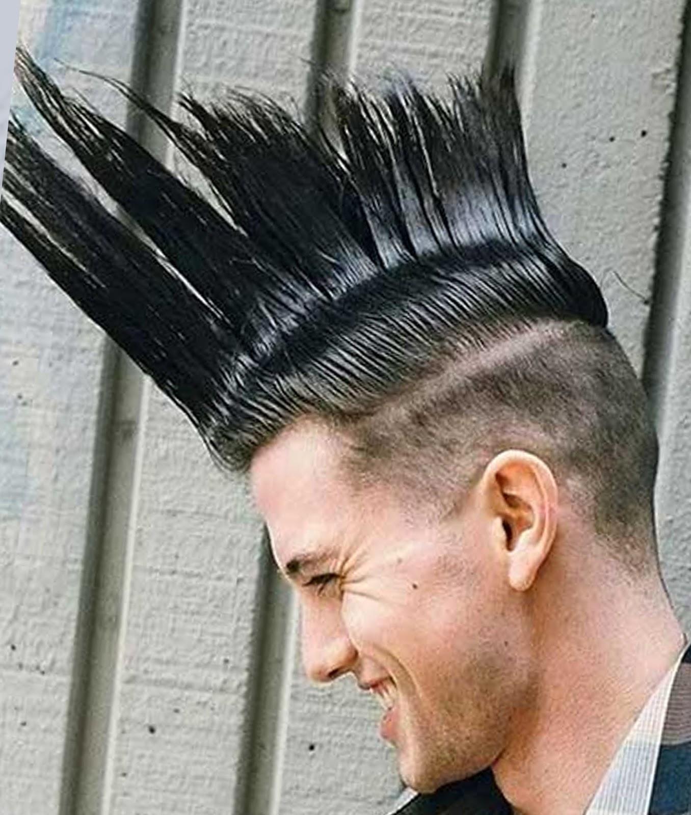 Stunning Mohawk Hairstyles For Men Short Hair Styles