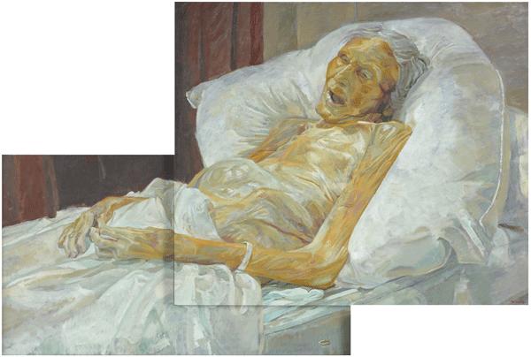 Daphne Todd, Last Portrait Of Mother, 2009