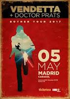 Concierto de Vendetta y Doctor Prats en Sala Caracol