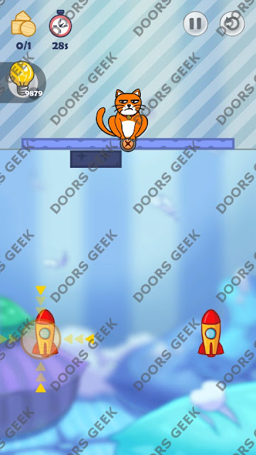 Hello Cats Level 51 Solution, Cheats, Walkthrough 3 Stars for Android and iOS